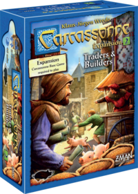 CARCASSONNE TRADERS AND BUILDERS 6x GRAIN TRADE TILES